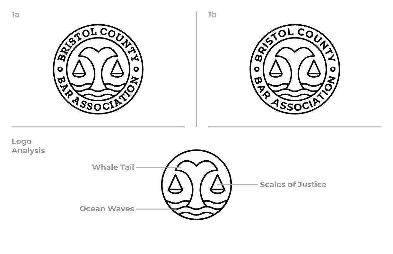 Bristol County Bar Association Round One Concept 1 Logo