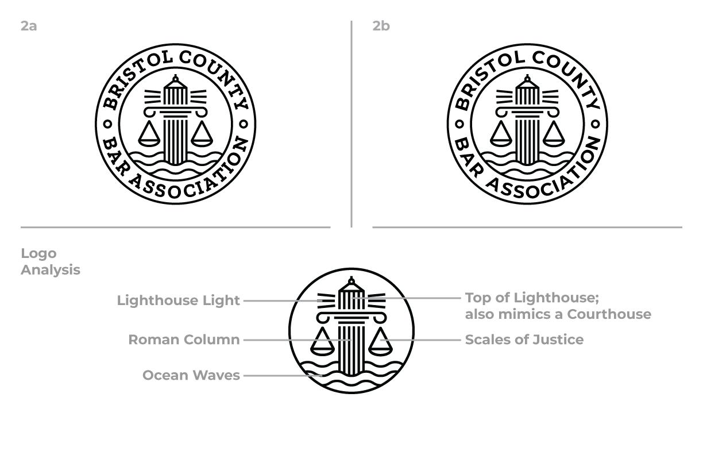 Bristol County Bar Association Round One Concept 2 Logo