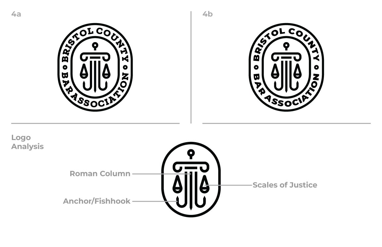 Bristol County Bar Association Round One Concept 4 Logo
