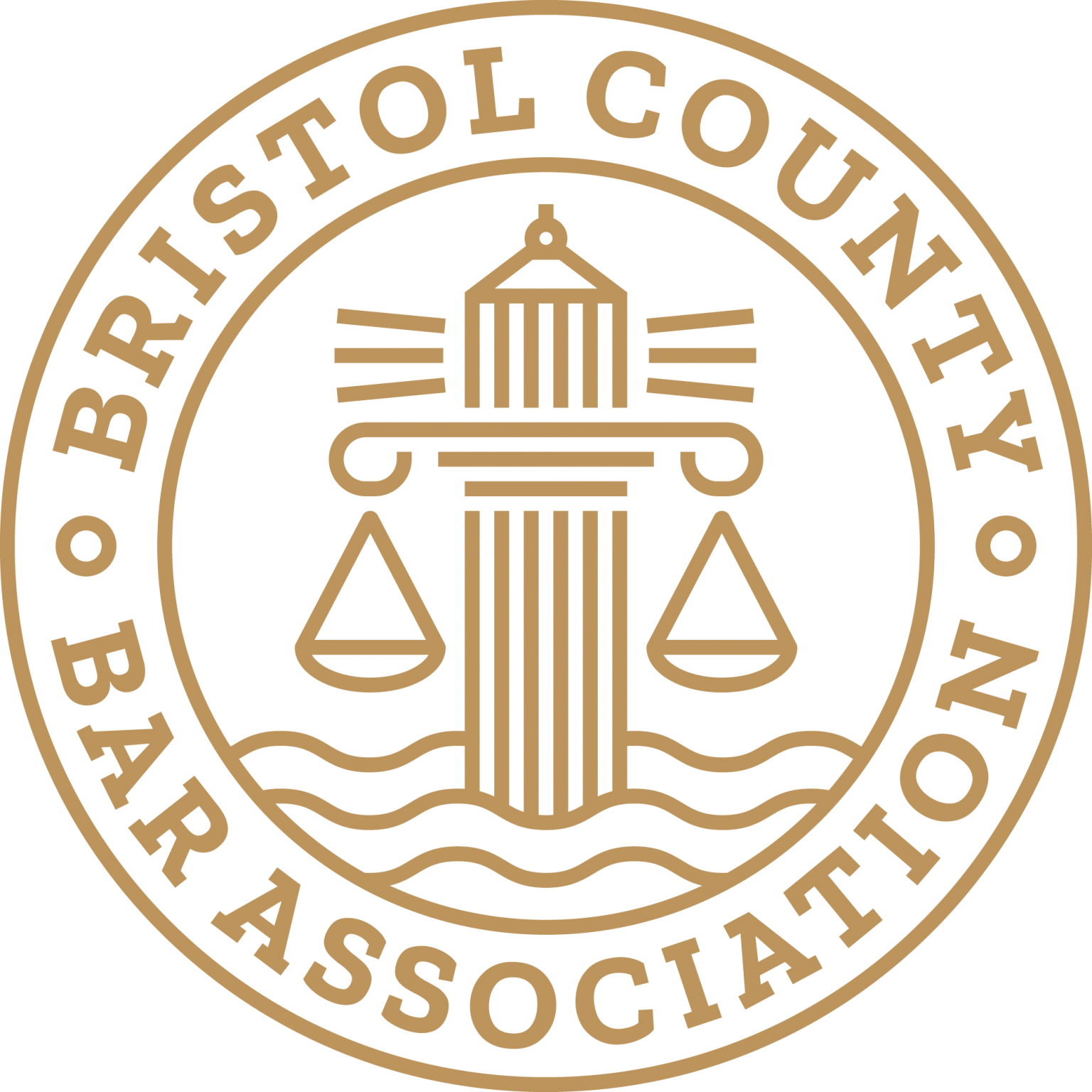 Bristol County Bar Association Gold Logo