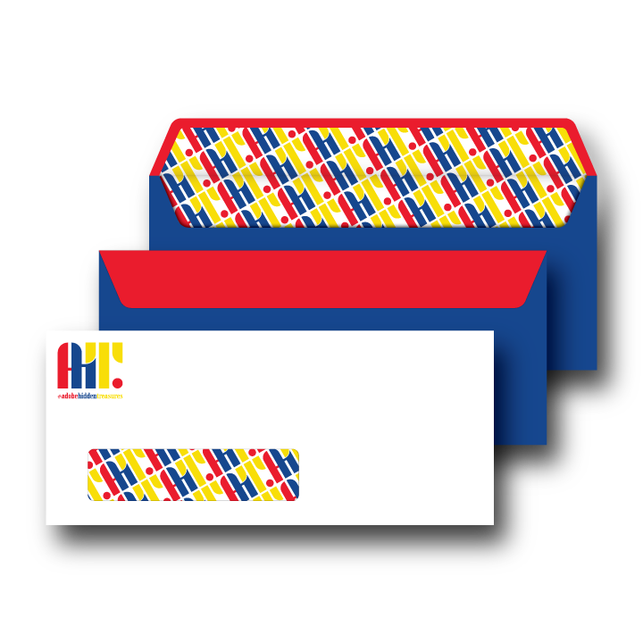 Adobe Hidden Treasures Envelope Design