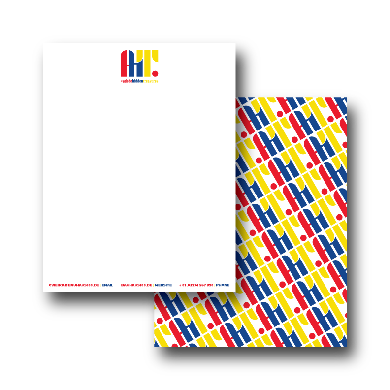 Adobe Hidden Treasures Letterhead Design