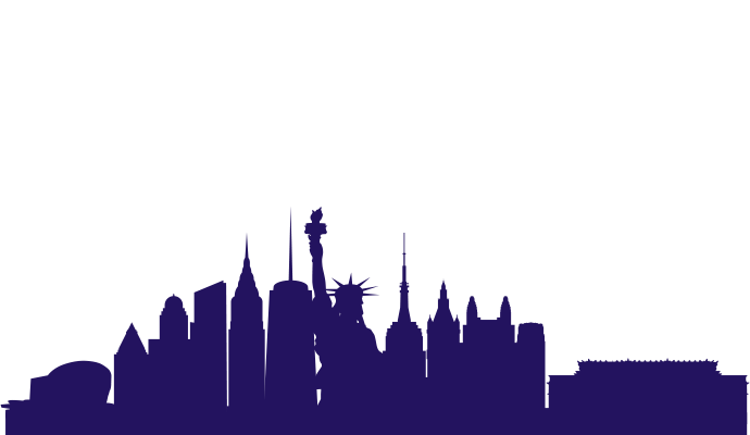 No Sleep New York NYC Skyline Illustration