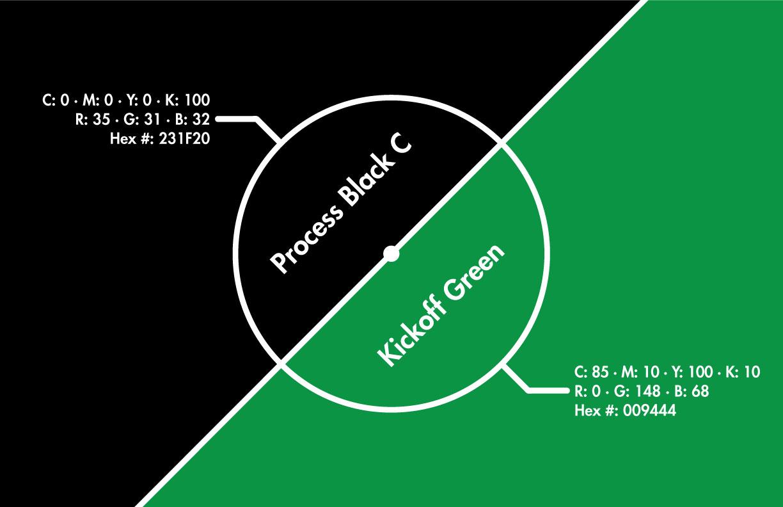 Kick Brand Identity Color Palette