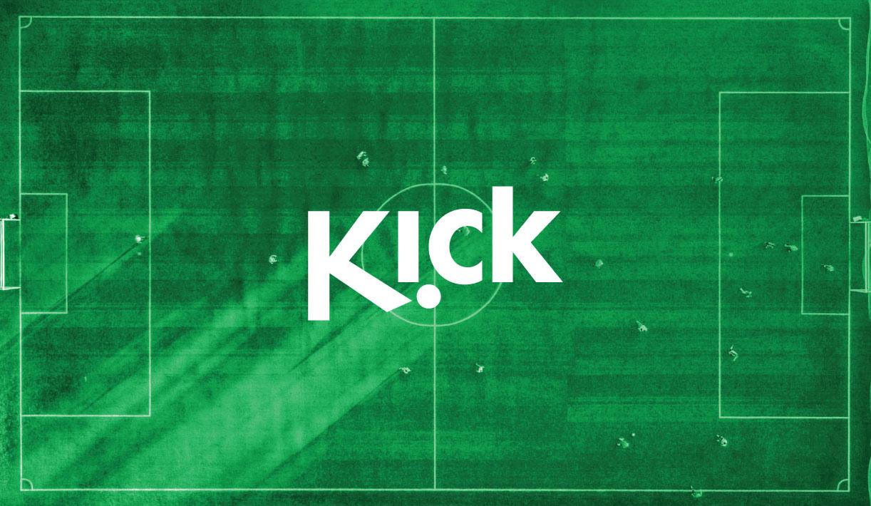 Kick Brand Identity Logo