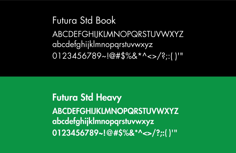 Kick Brand Identity Fonts