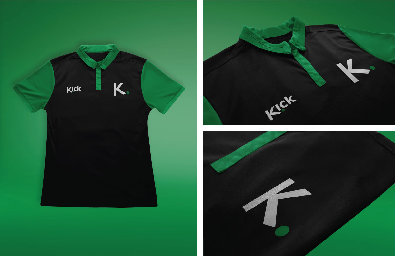 Kick Brand Identity Jersey