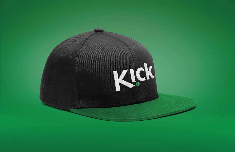 Kick Brand Identity Hat