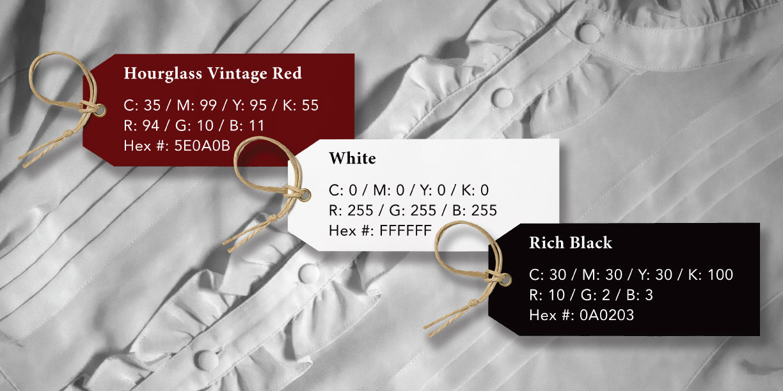 The Hourglass Vintage Color Palette