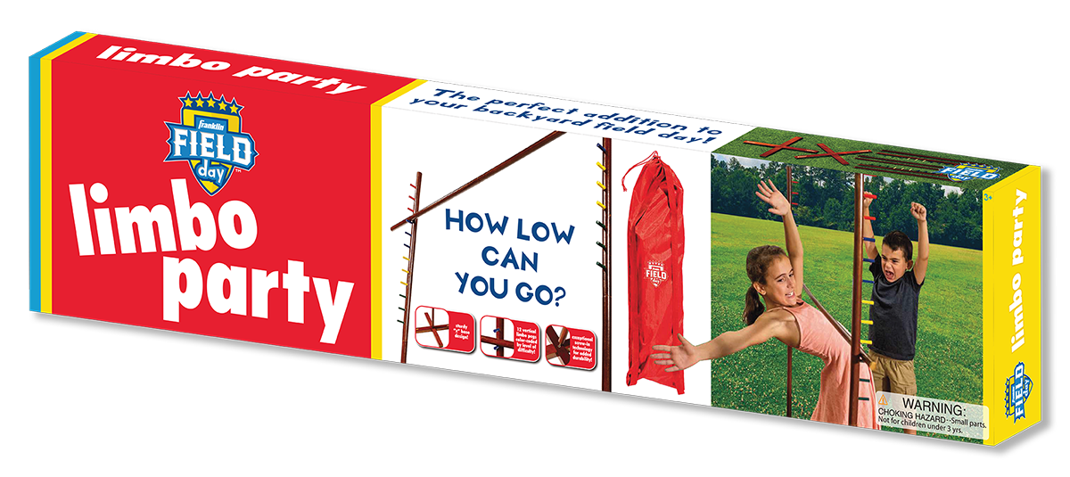 Franklin Field Day Limbo Party Packaging Design