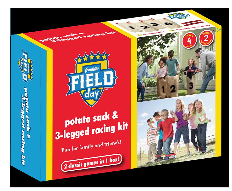 Franklin Field Day Potato Sack & 3 Legged Racing Kit Packaging Design