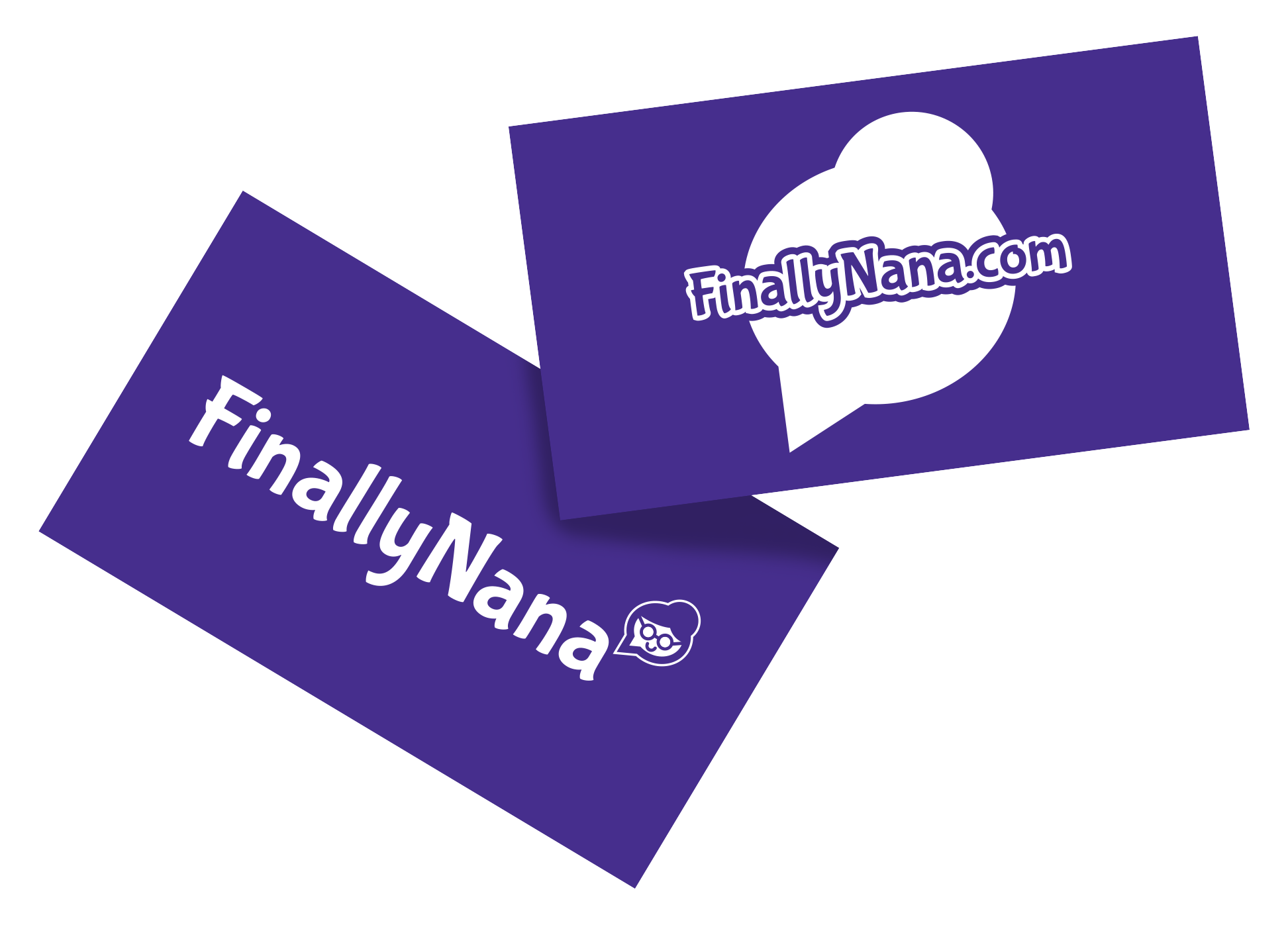 FinallyNana Business Card