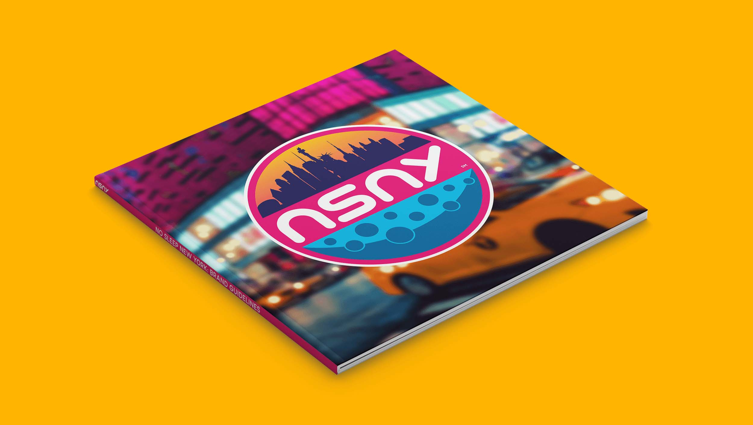 No Sleep New York Brand Guidelines Cover