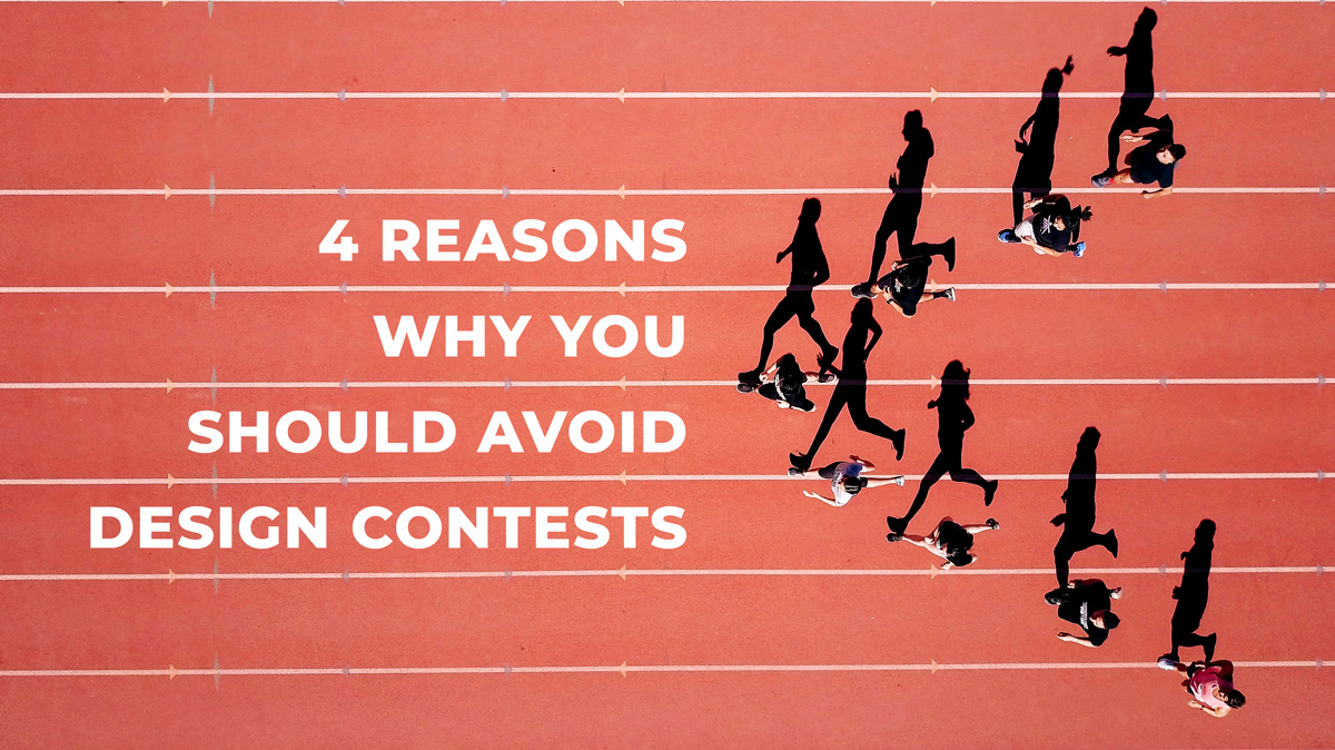 4 Reasons Why You Should Avoid Design Contests Cover